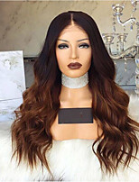 cheap -Synthetic Wig Body Wave Layered Haircut Wig Very Long Black / Gold Synthetic Hair 62-68 inch Women's African American Wig Brown