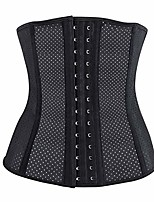 cheap -sauna waist trainer corset vest women shapewear tummy control body slimmer for weight loss black(large)