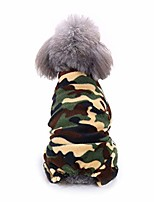 cheap -pet dog camouflage coat cold night cow pattern pajamas puppy lovely coat