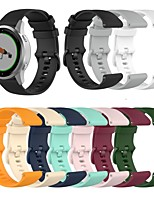 cheap -Watch Band for Fossil Gen 4 Q Venture HR / Garmin Vivoactive 4S Garmin Classic Buckle Silicone Wrist Strap