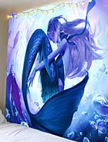 cheap -Classic Theme / Fairytale Theme Wall Decor 100% Polyester Classic / Modern Wall Art, 150*100 cm Decoration