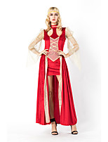 cheap -Goddess Retro Vintage Ancient Greek Vacation Dress Dress Outfits Masquerade Women's Costume Red Vintage Cosplay Party Halloween Sleeveless / Headwear / Headwear