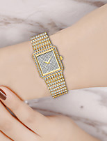 cheap -Women's Quartz Watches Quartz Modern Style Stylish Sparkle Diamond Analog Gold