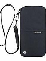 cheap -rfid passport wallet - multifunctional travel passport holder neck pouch with zipper for money ticket card coin purse