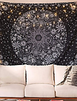 cheap -Wall Tapestry Art Decor Blanket Curtain Picnic Tablecloth Hanging Home Bedroom Living Room Dorm Decoration Polyester White Mandala Beauty View