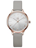 cheap -sk woman fashion quartz watch elegant diamond wristwatch girls ultra-thin waterproof wrist watches (8025 grey)