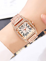 cheap -Women's Steel Band Watches Quartz Modern Style Stylish New Arrival Creative Analog Rose Gold Gold Silver