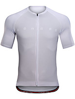 cheap -Men's Short Sleeve Downhill Jersey White Blue Grey Bike Jersey Top Mountain Bike MTB Road Bike Cycling Sports Clothing Apparel