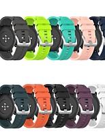 cheap -Watch Band for Huawei Watch GT / Huawei Watch 2 Pro / Honor Magic Huawei Classic Buckle Silicone Wrist Strap