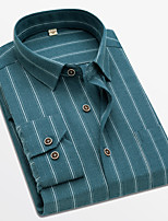cheap -Tuxedos Slim Fit Single Breasted More-button Spandex / Polyester Striped