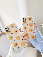 cheap -Smiley Pattern TPU Case For Apple iPhone 11 Pro Max 8 Plus 7 Plus 6 Plus Max Back Cover