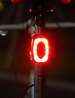 cheap -bicycle riding equipment usb charging tail lights mountain bike strobe lights night flashing warning lights (color : red)