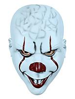 cheap -Joker Mask Halloween Props Adults' Men's Cosplay Halloween Halloween Festival / Holiday Latex White / Black / Red Men's Women's Easy Carnival Costumes