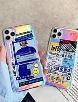 cheap -Case For Apple iPhone 11 Shockproof / Dustproof Back Cover Word / Phrase TPU For Case iphone 11 Pro/11 Pro Max/7/8/7P/8P/SE 2020/X/Xs/Xs MAX/XR