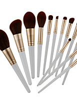 cheap -Professional Makeup Brushes 13pcs Full Coverage Plastic for Makeup Brushes