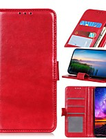cheap -Case For LG K51 Stylo 6 K61 Wallet Card Holder with Stand Full Body Cases Solid Colored PU Leather Case For LG K41S K51S V60 ThinQ 5G G9 G8X ThinQ Q70 K50S K40S K30 K20(2019) W30 W10 Stylo 5 Q60 K50