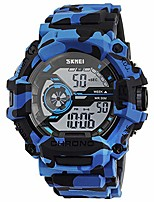 cheap -digital watch for men boys, waterproof military watch with calendar chronograph alarm backlight function, sports running wrist watch for men boys (camouflage blue)
