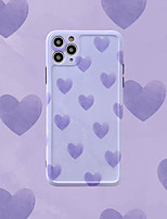 cheap -Heart Pattern IMD Case For Apple iPhone 11 Pro Max 8 Plus 7 Plus 6 Plus Max Back Cover