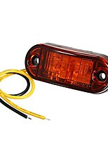 cheap -dc9-30v 2 leds side marker indicator light clearance lamp smd2835 ip65 water resistance for truck bus trailer rv car