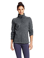 cheap -women's fleece jacket, black heather, xl