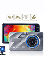 cheap -Auto Dvr Dash Camera Achteruitrijcamera Dual Camera Video 1080P Full Hd 4.0 Cyclus Opname Nachtzicht G-Sensor Groothoek Dashcam