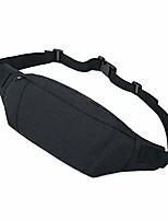 cheap -waist pack bag fanny pack for men women adjustable strap sling bag for traveling walking hiking running black