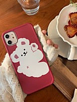 cheap -Case For Apple iphone 11 11pro 11proMax x XS XR XSMax 8p 8 7P 7 SE(2020)Cover TPU Cartoonsoft shell  iphone case set