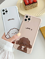 cheap -Cartoon Teddy Dog Pattern TPU Case For Apple iPhone 11 Pro Max 8 Plus 7 Plus 6 Plus Max Back Cover