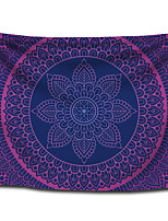cheap -Wall Tapestry Art Decor Blanket Curtain Picnic Tablecloth Hanging Home Bedroom Living Room Dorm Decoration Polyster Bohemia Mandala Purple Blue Beauty View