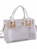 cheap -tote beach ladies crossbody bag women jelly transparent messenger shoulder handbag clear jelly purse with small card bag transparent