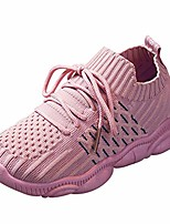 cheap -rained-kids boys girls running shoes comfortable fashion light weight slip on cushion athletic lace up walking shoes pink
