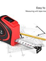 cheap -Digital Laser Rangefinder Handheld Infrared Range Finder 2 in 1 5m Measuring Tape 30m Laser Distance Meter with LCD Display