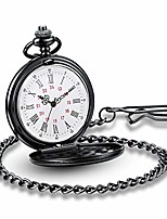 cheap -classic vintage easy to red watches stainless steel quartz pocket watch with beautiful pocket watches box (gold)