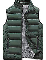 cheap -men's plus cotton warm jacket sherpa lined fleece fur collar casual button military cargo jackets outwear parka winter quilted coat army green l