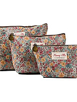 cheap -women's cosmetic bags travel small makeup storage pouch cosmetic and toiletries organizer bag pack of 4