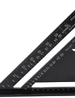 cheap -Aluminum Alloy Triangle Rulers Metric Triangle Ruler Black Triangular Ruler