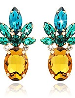 cheap -pineapple earrings jewelry gifts for women teens girl 1 pair by