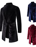cheap -Plague Doctor Retro Vintage Steampunk Coat Masquerade Tuxedo Men's Costume Black / Red / Navy Blue Vintage Cosplay Halloween Masquerade Long Sleeve