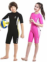 cheap -Boys' Girls' Shorty Wetsuit 2.5mm Neoprene Diving Suit Thermal Warm Waterproof Back Zip - Swimming Diving Surfing / Kid's