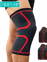 cheap -knee brace, compression sleeve knee sleeves knee pad support for arthritis, acl, running, biking, joint pain relief, workout, sports for men and women 2 pair