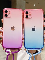cheap -Case For Apple iPhone 12 / iPhone 12 Mini / iPhone 12 Pro Max Shockproof / Dustproof Back Cover Color Gradient TPU