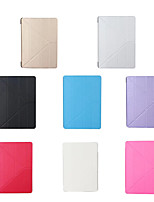 cheap -Case For Apple iPad Air / iPad 4/3/2 / iPad Mini 3/2/1 Magnetic Full Body Cases Solid Colored TPU