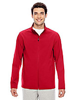 cheap -men's leader soft shell jacket, xs, sport red