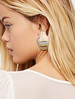 cheap -Women's Drop Earrings Hoop Earrings Earrings Chandelier Holiday Fashion Birthday Luxury Punk Trendy Sweet Fashion Earrings Jewelry Gold For Street Engagement Date Birthday Festival 1 Pair