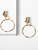 cheap -Women's Drop Earrings Romantic Fashion Cute Earrings Jewelry Gold For Party Evening Engagement Date Birthday Beach