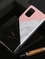 cheap -Case For Samsung Scene Map Samsung Galaxy S20 S20 Plus S20 Ultra A51(5G) A71(5G) marble pattern TPU material IMD process glossy scratch-resistant phone case YH