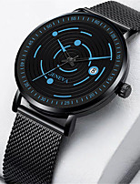 cheap -Men's Sport Watch Quartz Modern Style Stylish Casual Calendar / date / day Analog Rose Gold White Blue / Titanium Alloy