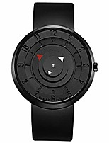 cheap -creative fashion watches waterproof simple unisex men, black, size no size