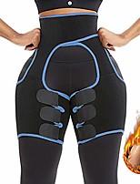 cheap -3-in-1 high waist trainer thigh trimmer fitness weight butt lifter slimming support belt hip enhancer shapewear thigh trimmers for women (blue, x-large)