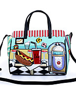 cheap -Women's Bags PU Leather Top Handle Bag Embossed for Christmas Gifts / Party / Halloween Green